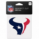 Houston Texans 4x4 Perfect Cut Color Decal - Single