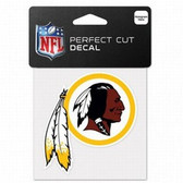 Washington Redskins 4x4 Perfect Cut Color Decal - Single