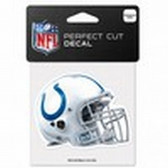 Indianapolis Colts 4x4 Perfect Cut Color Decal - Helmet