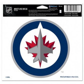 Winnipeg Jets 5x6 Multi-Use Color Decal