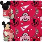 Ohio State Buckeyes Disney Hugger Blanket