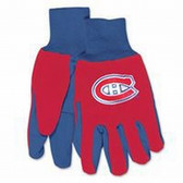 Montreal Canadiens Two Tone Gloves - Adult Size