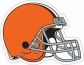 """Cleveland Browns 12"""" Helmet Car Magnet - New Logo"""