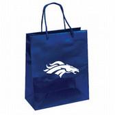 Denver Broncos Gift Bag - Elegant Foil