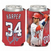 Washington Nationals Bryce Harper Can Cooler