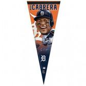 Detroit Tigers Miguel Cabrera Caricature Premium Pennant
