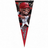 Los Angeles Angels Albert Pujols Caricature Premium Pennant