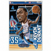Oklahoma City Thunder Kevin Durant Caricature 11x17 Multi Use Decal