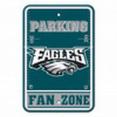 Philadelphia Eagles 12x18 Plastic Fan Zone Sign