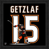 Anaheim Ducks Ryan Getzlaf 20x20 Uniframe Jersey Photo
