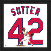 St. Louis Cardinals Bruce Sutter 20x20 Uniframe Jersey Photo