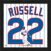 Chicago Cubs Addison Russell 20x20 Uniframe Jersey Photo