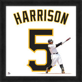 Pittsburgh Pirates Josh Harrison 20x20 Uniframe Home Jersey Photo