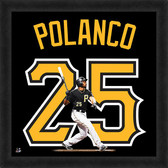 Pittsburgh Pirates Gregory Polanco 20x20 Uniframe Jersey Photo