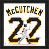 Pittsburgh Pirates Andrew McCutchen 20x20 Uniframe Home Jersey Photo