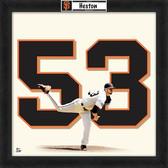 San Francisco Giants Chris Heston 20x20 Uniframe Jersey Photo