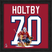 Washington Capitals Braden Holtby 20x20 Uniframe Jersey Photo
