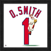 St. Louis Cardinals Ozzie Smith 20x20 Uniframe Jersey Photo