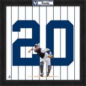 New York Yankees Jorge Posada 20x20 Uniframe Jersey Photo