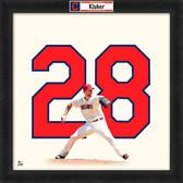 Cleveland Indians Corey Kluber 20x20 Uniframe Jersey Photo