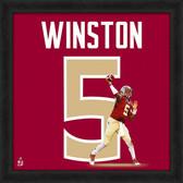 Florida State Seminoles Jameis Winston 20x20 Uniframe Jersey Photo