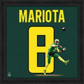 Oregon Ducks Marcus Mariota 20x20 Uniframe Jersey Photo