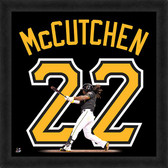 Pittsburgh Pirates Andrew McCutchen Black Jersey 20x20 Uniframe Jersey Photo
