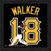 Pittsburgh Pirates Neil Walker 20x20 Uniframe Jersey Photo