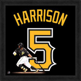 Pittsburgh Pirates Josh Harrison 20x20 Uniframe Jersey Photo
