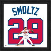 Atlanta Braves John Smoltz 20x20 Uniframe Jersey Photo