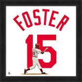 Cincinnati Reds George Foster 20x20 Uniframe Jersey Photo
