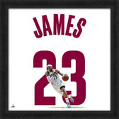 Cleveland Cavaliers LeBron James 20x20 Uniframe Jersey Photo