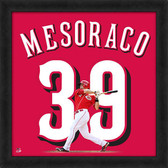 Cincinnati Reds Devin Mesoraco 20x20 Uniframe Jersey Photo