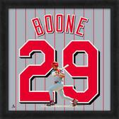 Cincinnati Reds Bret Boone 20x20 Uniframe Jersey Photo
