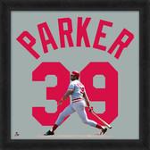 Cincinnati Reds Dave Parker 20x20 Uniframe Jersey Photo