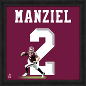 Texas A&M Aggies Johnny Manziel 20x20 Uniframe Jersey Photo