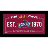 Cleveland Cavaliers 6x12 Kids Cave Sign
