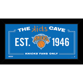 New York Knicks 6x12 Kids Cave Sign