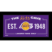 Los Angeles Lakers 6x12 Kids Cave Sign