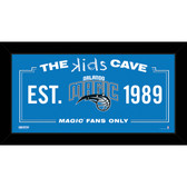 Orlando Magic 6x12 Kids Cave Sign