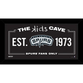 San Antonio Spurs 6x12 Kids Cave Sign