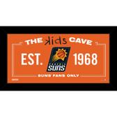 Phoenix Suns 6x12 Kids Cave Sign