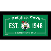 Boston Celtics 10x20 Kids Cave Sign