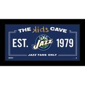 Utah Jazz 10x20 Kids Cave Sign