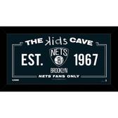 Brooklyn Nets 10x20 Kids Cave Sign