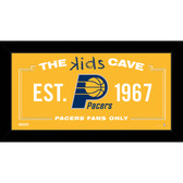 Indiana Pacers 10x20 Kids Cave Sign
