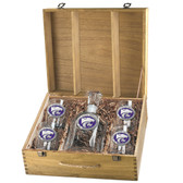 Kansas State Wildcats Capitol Decanter Box Set