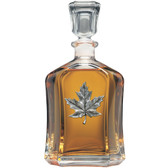 Maple Leaf Capitol Decanter