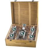 Michigan State University Capitol Decanter Box Set