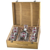"Mississippi State Bulldogs ""M"" Capitol Decanter Box Set"
